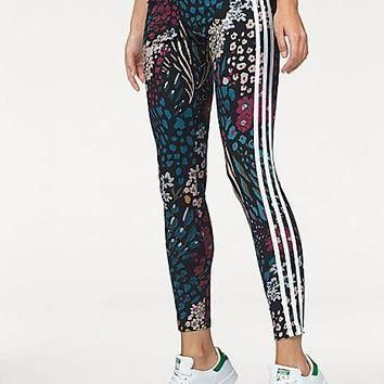 adidas Performance Floral Leggings by adidas Originals | Freemans