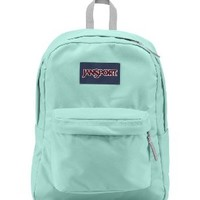 Jansport Superbreak Backpacks (Aqua Dash)