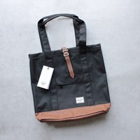 herschel supply co. - market tote - black/tan