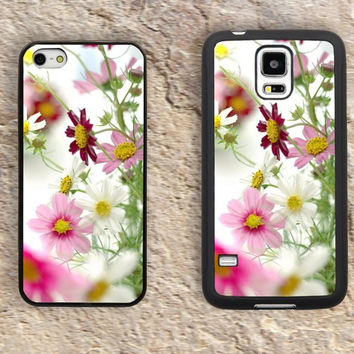 Daisy flower iPhone Case-Patterns Floral iPhone 5/5S Case,iPhone 4/4S Case,iPhone 5c Cases,Iphone 6 case,iPhone 6 plus cases,Samsung Galaxy S3/S4/S5-301