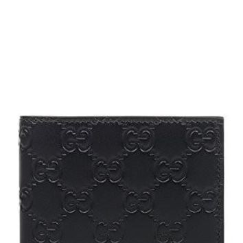 Gucci Men's 365466Cwc1r1000 Black Leather Wallet