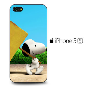 Snoopy The Peanuts Movie iPhone 5[S] Case