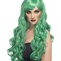 Desire (Green) Adult Wig