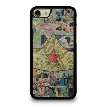 wonder woman collage case for iphone ipod samsung galaxy  number 1