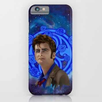Doctor Who 10th generation iPhone & iPod Case by Three Second