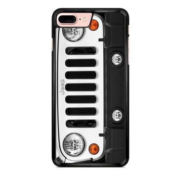 Jeep Wrangler White 2 1 iPhone 7 Plus Case