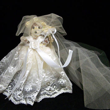 Victorias Secret Bride Teddy Bear Original, Sachet, Bridal Shower Engagement Gift, Original Tags 118