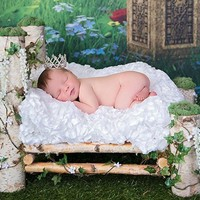 Rhinestone Tiara Crown Newborn Photography Baby Hat Prop (Several Styles Available ) - CCHT101