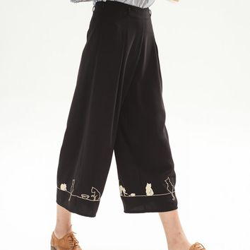 Feline Fling Trouser - Miss Patina