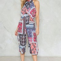 All Mixed Up Culotte Jumpsuit