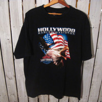 Harley Davidson Hollywood California T-Shirt, Size XL