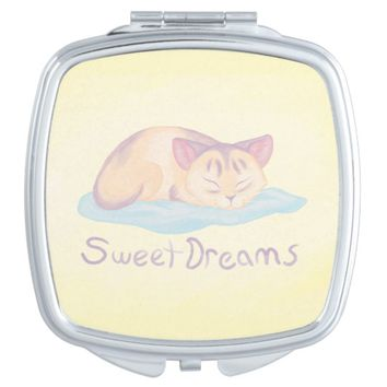 Dreaming Kitten Makeup Mirror