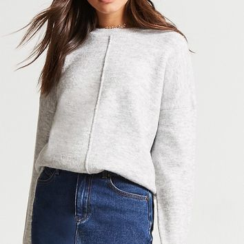 Vented Knit Sweater
