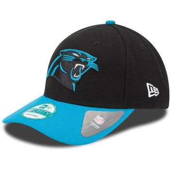 New Era Carolina Panthers Black The League 9FORTY Adjustable Hat - NFL