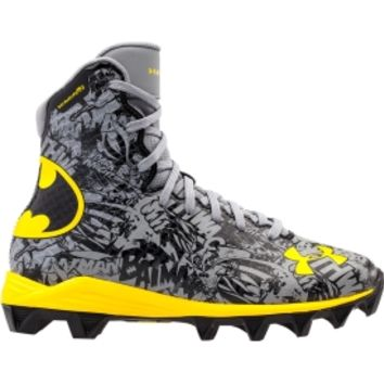 Under Armour Kids' Highlight RM Alter Ego Batman Football Cleats