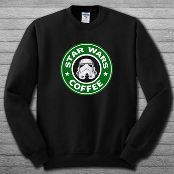 starwars coffee Sweatshirt # For Women , Men  Sweatshirt