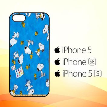 Snoopy Ruler V 2111  iPhone 5|5S|SE Case