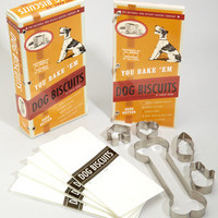 You Bake 'Em Dog Biscuits | Pet Treat Baking Kit | fredflare.com