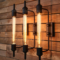 American Retro Industrial Wall Lamp