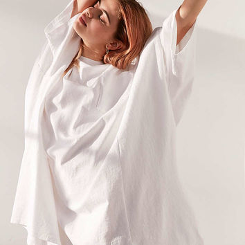Silence + Noise Oversized Drop Shoulder Tee Dress - Urban Outfitters