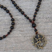 Eternal Energy - Genuine Ebony and Rosewood with Pendant Of Natraj