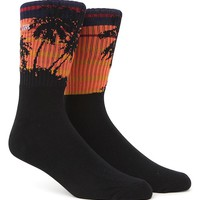 Vans Sunset Crew Socks - Mens Socks - Sunset - One