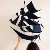 Haptic Lab Large Flying Dutchman Ship Kite