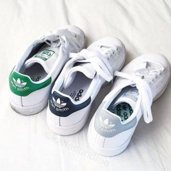 DCCKIJG Unisex Men & Women Casual Sport Print Adidas Stan Smith Shoe