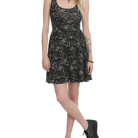 The Black Pearl Pin-Up Dress
