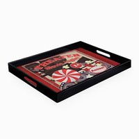 Accents by Jay Popcorn Movie Night Serving Tray