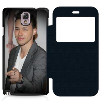 Prince Royce Leather Wallet Flip Case Samsung Galaxy Note 3