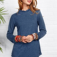 Cupshe Oh Really Ethnic Hooded Long Top