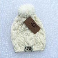 UGG Fashion Winter Knit Women Men Beanies Hat Cap
