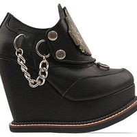 K.T.Z. Champion Metal Shoes in Black at Solestruck.com