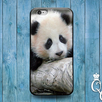 iPhone 4 4s 5 5s 5c 6 6s plus iPod Touch 4th 5th 6th Generation Cute Black White Asian Baby Panda Phone Cover Funny Animal Fun Girl Boy Case