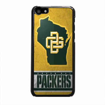 green bay packers logo iphone 5c 4 4s 5 5s 6 6s plus cases
