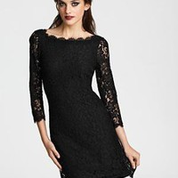 "DIANE von FURSTENBERG ""Zarita"" Lace Dress - Contemporary - Bloomingdales.com"