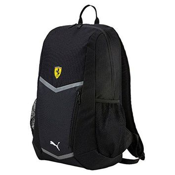Ferrari Puma SCUDERIA Backpack Sports Bag Book Bag - Black