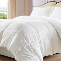 White Down Alternative Comforter/ Duvet Cover Insert