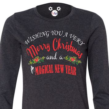 Wishing You A Very Merry Christmas And A Magical New Year Ladies Collection