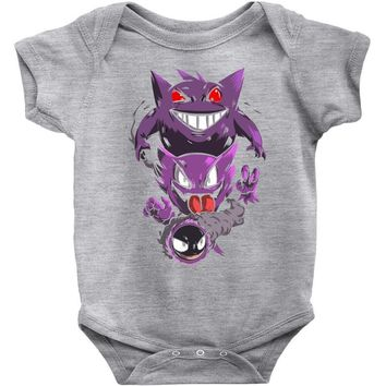 pokemon the ghost Baby Onesuit