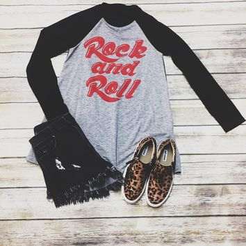 Rock And Roll Sweatshirt