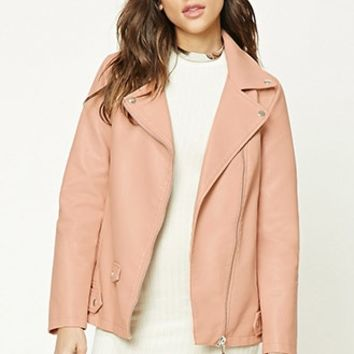 Women's Leather + Suede Jackets | Faux Leather + Suede | Forever 21 - Leather + Suede | WOMEN | Forever 21