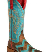 Anderson Bean Boots Macie Bean Wave on Wave Cowgirl Boots - Square Toe - Sheplers