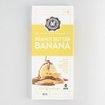 Peanut Butter Banana Milk Chocolate Bar