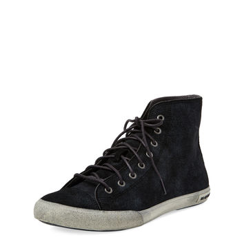 Army Issue Leather Hi Top Sneaker