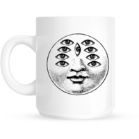 Nine Eyed Moon Mug
