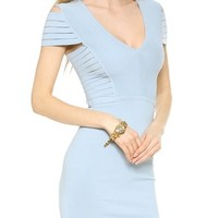 Banded Shoulder Knit Dress