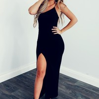 On The List Maxi: Black