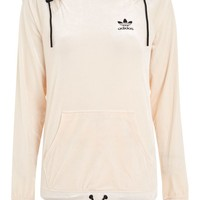 Velour Hoodie by adidas Originals - New In Fashion - New In